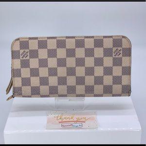 Louis Vuitton Damier Azur Canvas Insolite Wallet